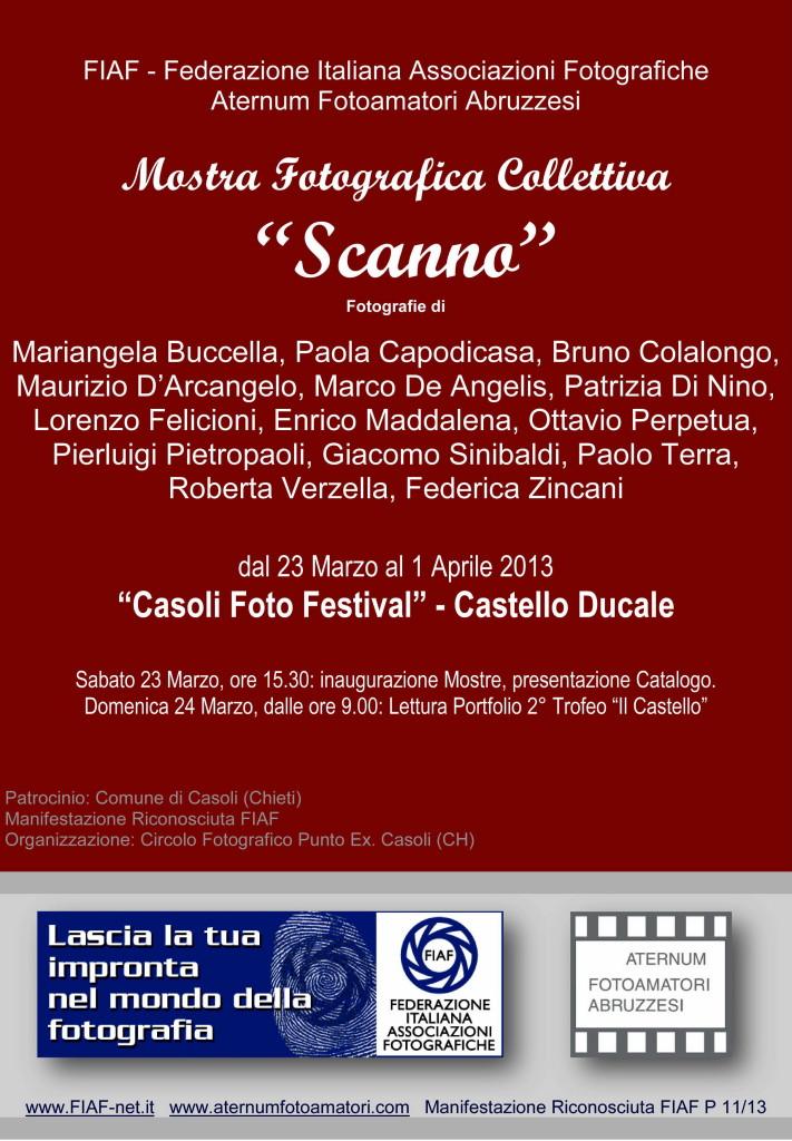 CASOLI CH COLLETTIVA SCANNO - ATERNUM FOTOAMATORI ABRUZZESI 2013