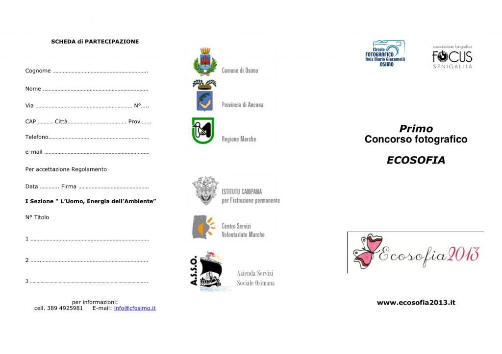 senigallia concorso ecosofia