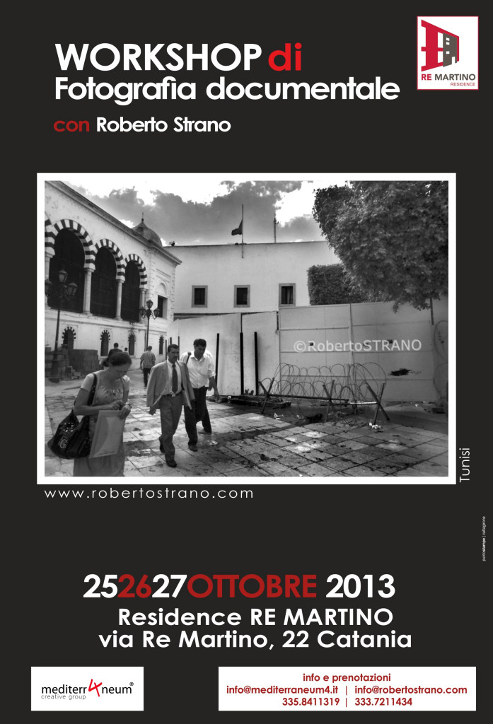 WorkShop Catania fotografia documentale 2013