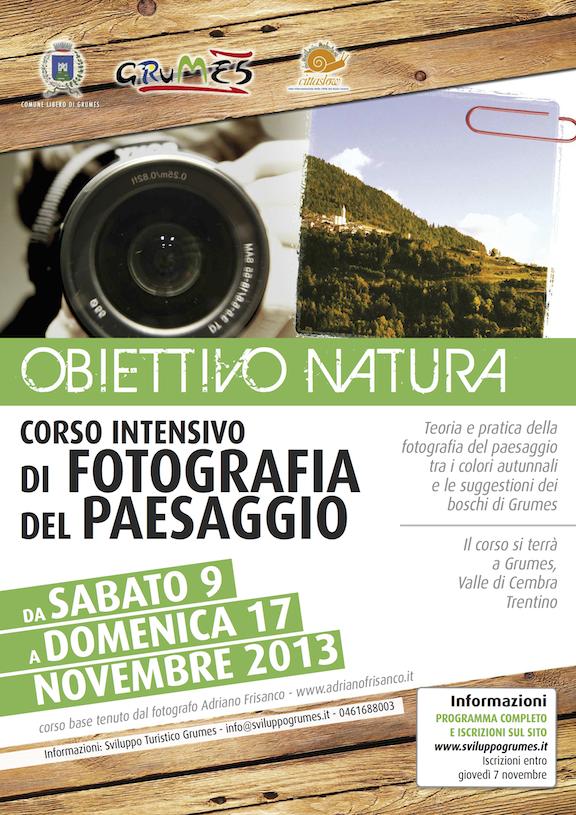 Corso di fotografia a Grumes_Trentino_novembre 2013