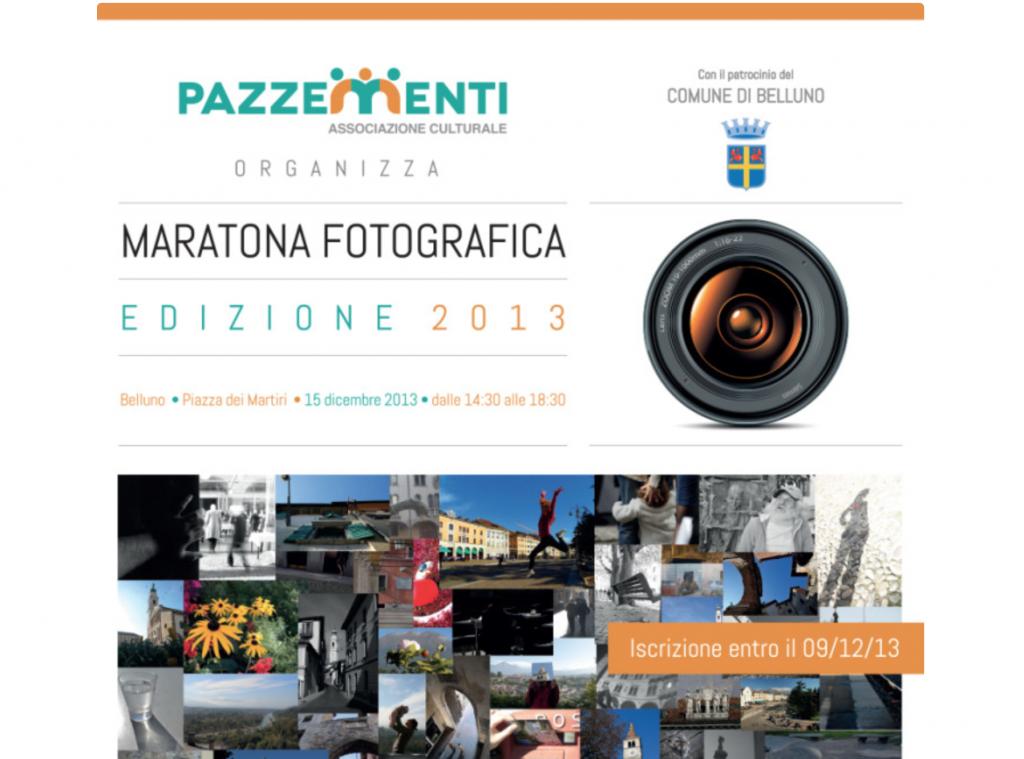 maratona fotografica belluno pazzementi 2013