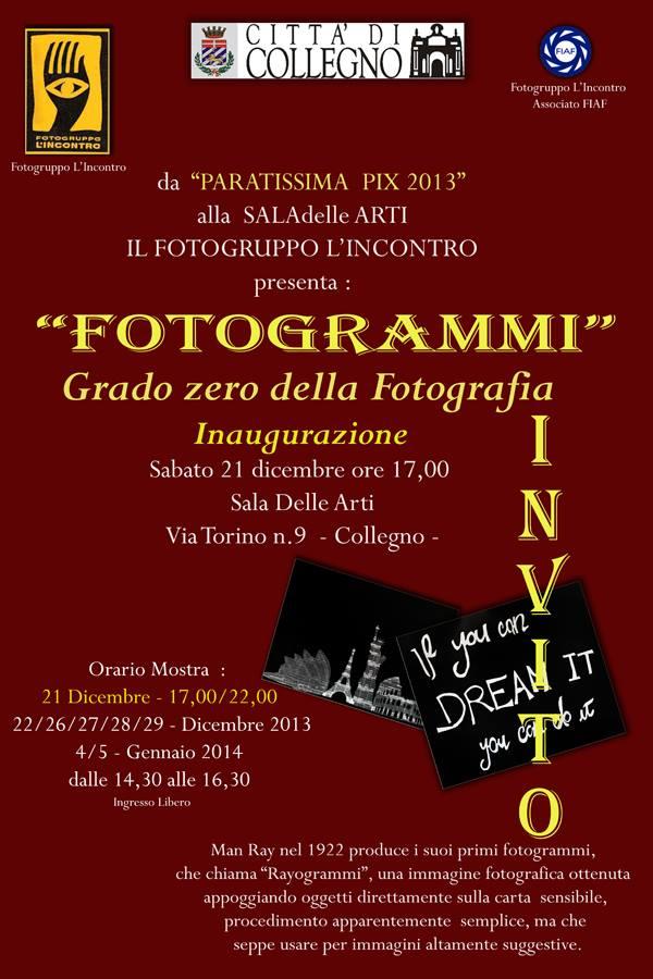 Il Fotogramma FG Incontro Collegno 2013