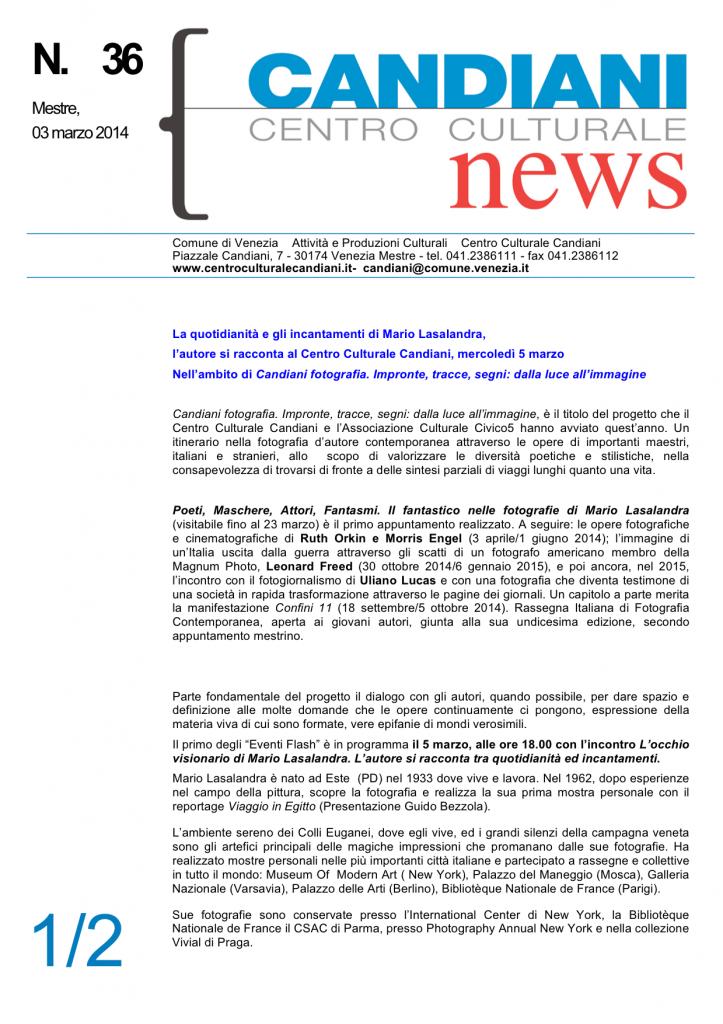 Candiani News 36