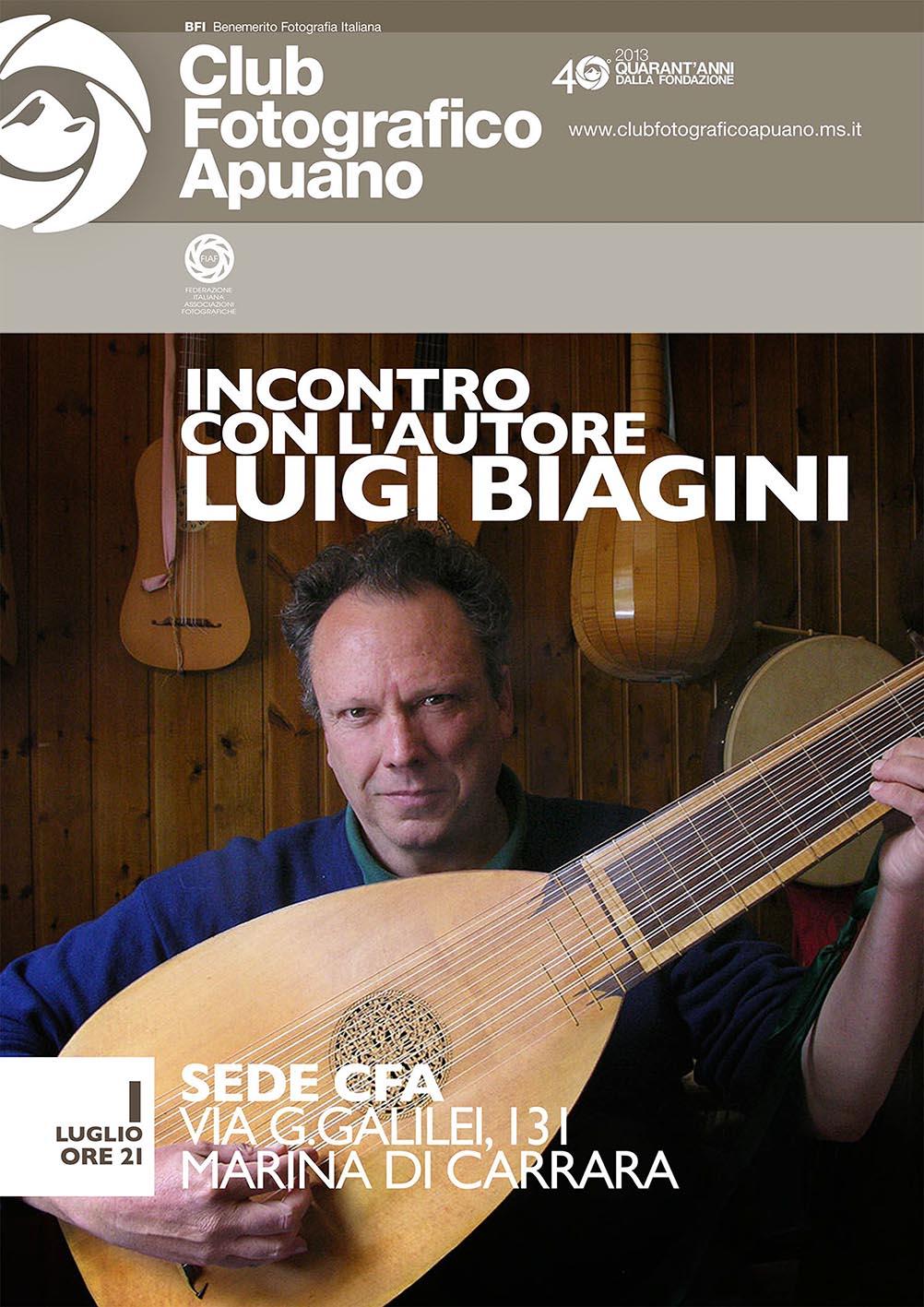 incontro con Luigi Biagini