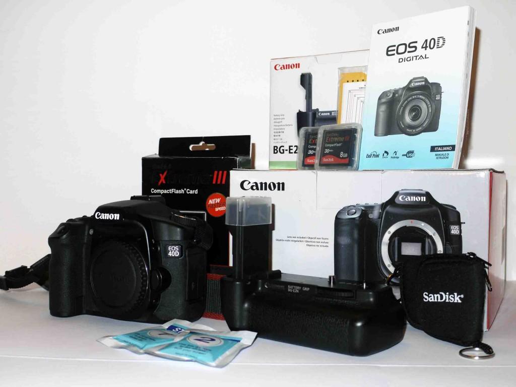 Canon 40D_Corpo+batterypack