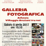 Inaugurazione Galleria fotografica Athesis @Solesino
