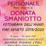 Donata Smaniotto / Personale 15 giugno - 30 agosto 2021